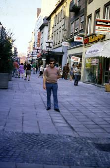 In der Einkaufsstraße