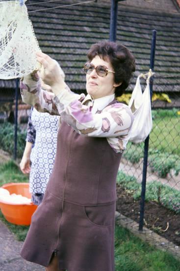 Brille, garten, Hausarbeit, Hausfrau, mode, wäsche, Wäscheleine