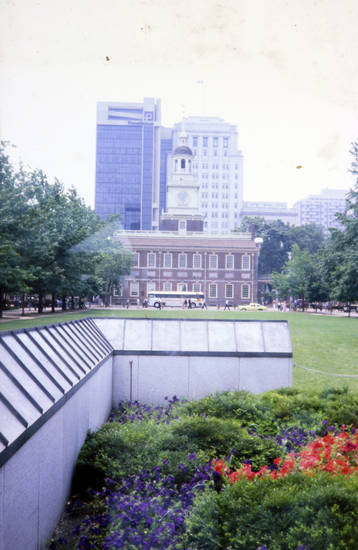 Amerika, independence hall, Independence National Historic Park, Penn Mutual Tower, philadelphia, usa