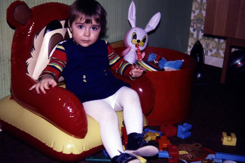 Kinderzimmer, Kindheit, sessel, Spielzeug