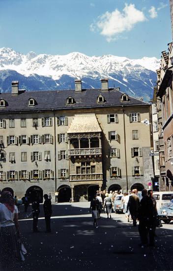 Alpen, goldenes Dachl, Innsbruck, Österreich, Sommerurlaub, Tirol, urlaub