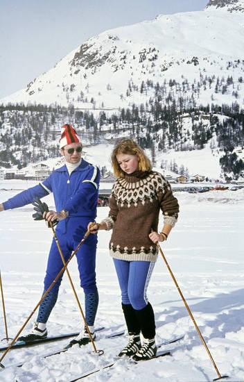 Adidas, Islandpulli, Langlauf, Norwegerpulli, Ski, skilanglauf, Sort, winterurlaub