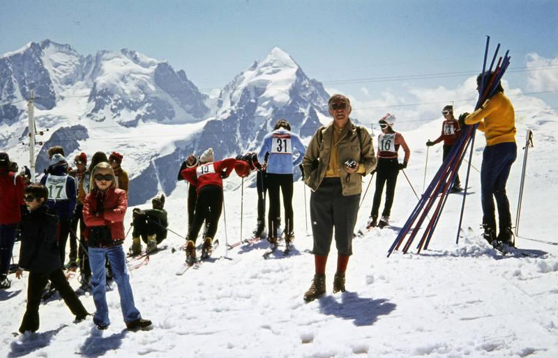 abfahrt, corvatsch, schnee, Ski, Wintersport