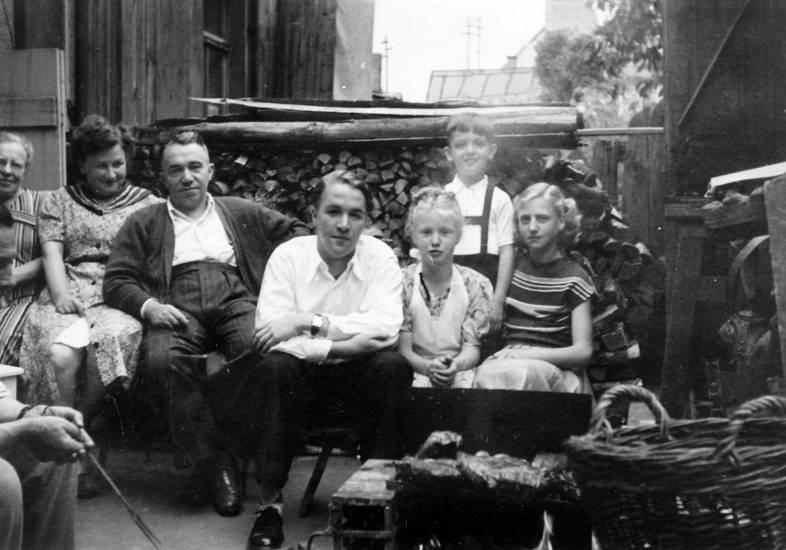 familie, garten, Hof, holz, Idar-Oberstein, Terrasse, Verwandschaft