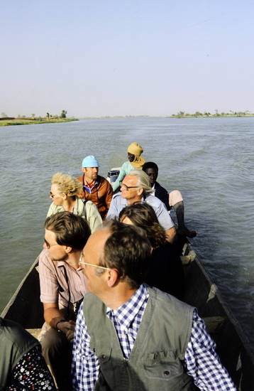 boot, Bootstour, fluss, Niger, tourist, Urlaubsreise