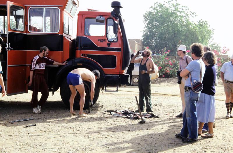 hammer, Mercedes-Benz, New York Tramp, NG, Niger, Reisebus, Rohr, tourist, Urlaubsreise