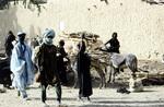 Straßenszene aus Niger