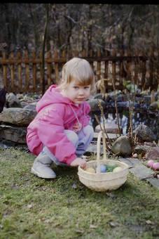 Eiersuchen Anno 1986