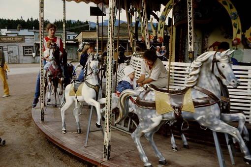 """Im Freizeitpark """"Fort Fun"""""""