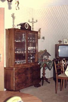 Wohnzimmer einer älteren Dame