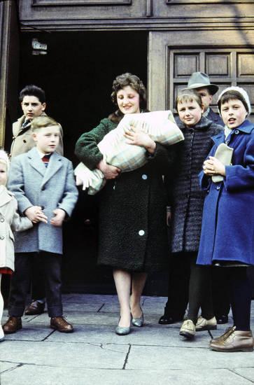 Dortmund, Kindheit, mode, Taufe