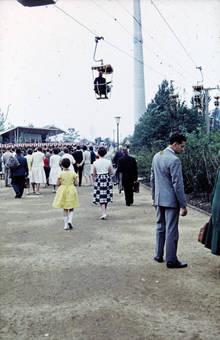 Die Seilbahn im Westfalenpark