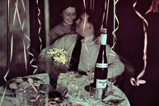 Feier unter Verliebten
