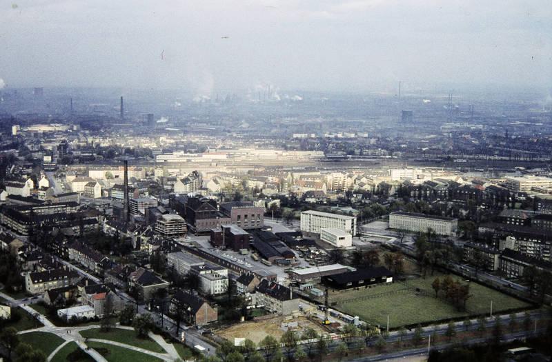 bahnhof, Dach, Dortmund, dortmund süd, Gleis, Güterbahnhof, Güterzug, Schornsteine, Sonne, Stadtleben