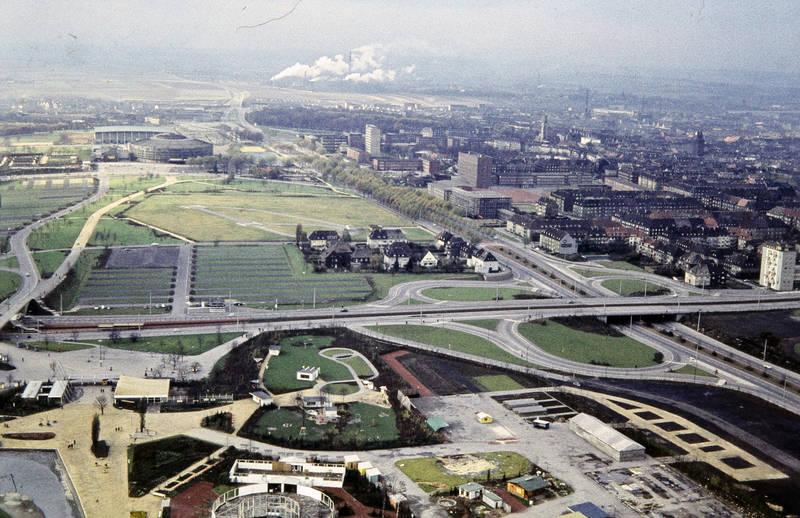 B1, B54, Bundesstraße, Dortmund, haus, Schornstein, westfalenhalle