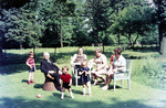 Familientag im Garten