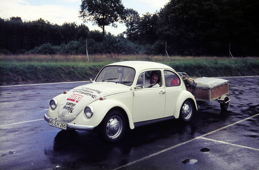 Camping mit dem VW Käfer