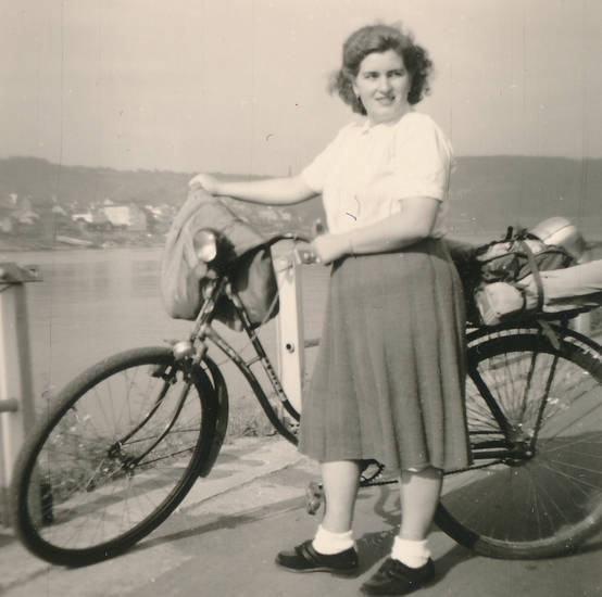 ausfahrt, ausflug, Damenrad, fahrrad, Gepäck, Gepäckträger, rock