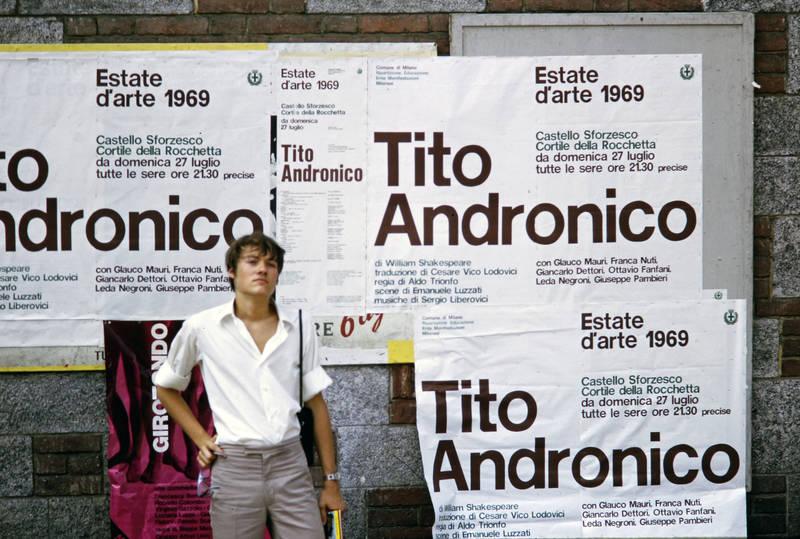 Castello Sforzesco, Mailand, mode, Shakespear, theater, Titus Andronicus, tourismus