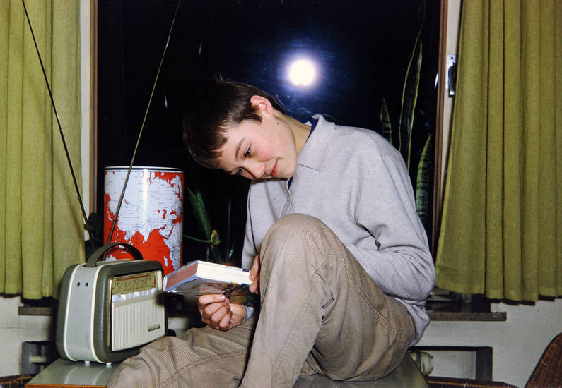 Inneneinrichtung, Kindheit, Lesen, mode, Nordwijk, Radio