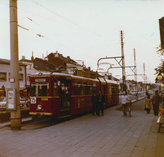Aachen, Aachen-Brand, aseag reisen, großraumwagen 1010, Jägermeister, linie 15, Straßenbahn, Vaals