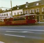 Fahrende Straßenbahn