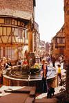 Brunnen in Colmarer Altstadt