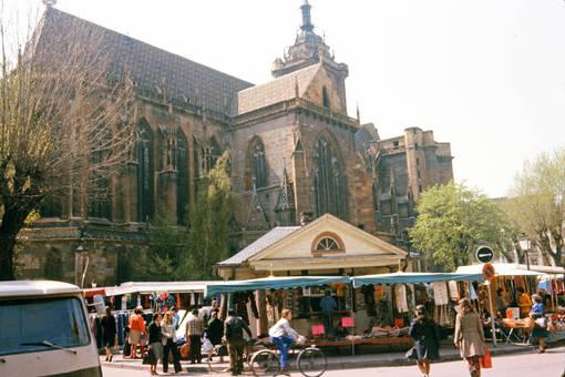 Markt vor der Kathedrale