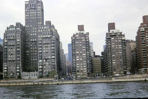 Wohnhäuser am East River