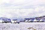 Parkplatz in den Alpen