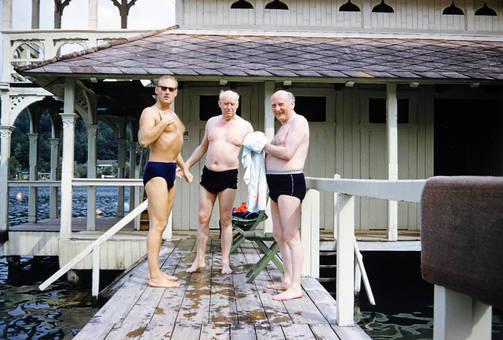 Nach dem Schwimmen