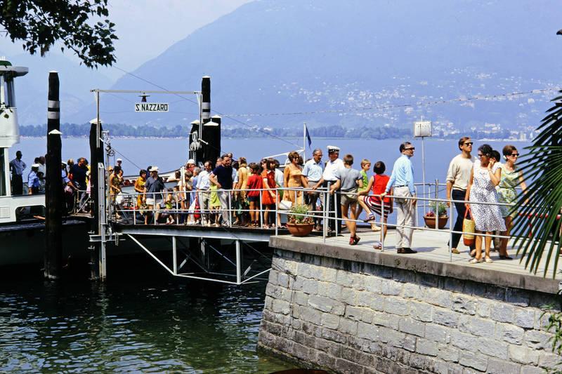 fähre, Lago Maggiore, mode, San Nazzaro, urlaub, Urlaubsreise