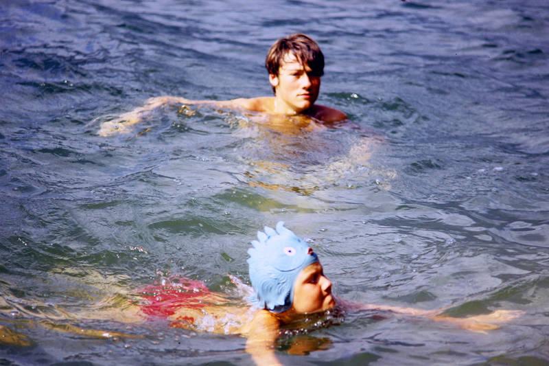 Badekappe, bademode, Erfrischung, Lago Maggiore, Schwimmen, see