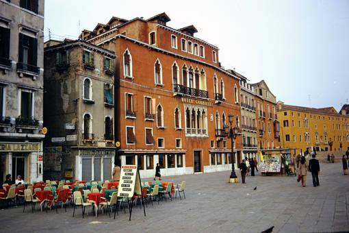 Das Hotel Gabrielli Sandwirth
