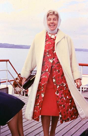 Blume, deck, mode, Muster, Rot, Schifffahrt, starnberger see