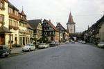 Die Hauptstraße von Gegenbach