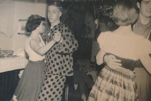 Paartanz auf einer Feier