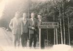Vier Freunde im Schwarzwald