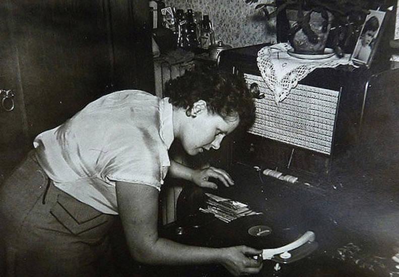 musik, Plattenspieler, Radio, Schallplatte