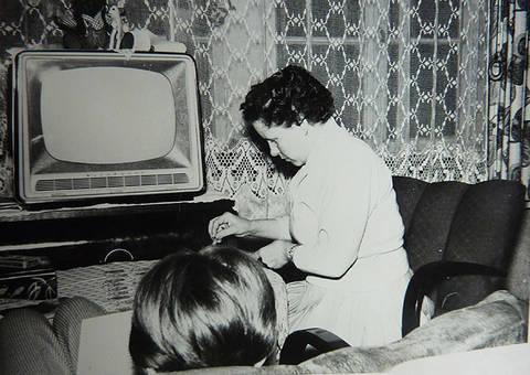 Unser erster Fernseher