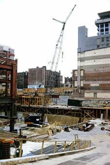 Bauarbeiten in New York