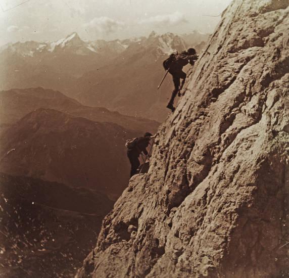 Alpen, Berg, bergsteigen, ferien, handwerksgeselle, Klettern, reise, Schweiz, steilhang, urlaub