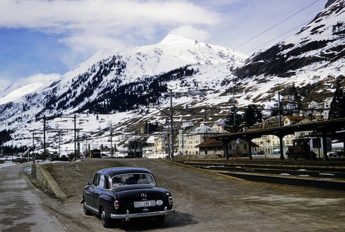 Bahnhof am Gottardtunnel