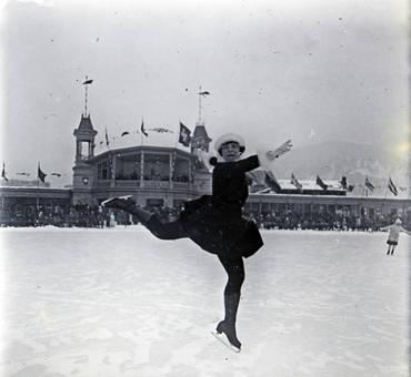 Eisläuferin