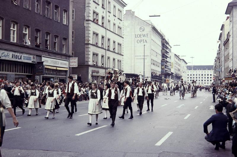 festumzug, münchen, Oktoberfest, schwanenthalerstraße, Tracht, trachtenumzug, tradition