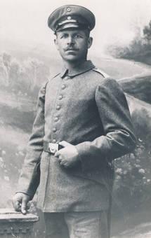 Großonkel im 1. Weltkrieg