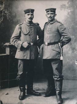 Erster-Weltkriegs-Soldaten