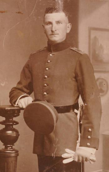 1. Weltkrieg, Handschuh, mütze, soldat, Uniform
