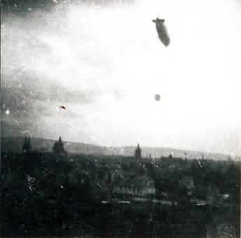 Hindenburg über Trier