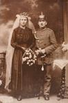 Hochzeitsbild der Großeltern